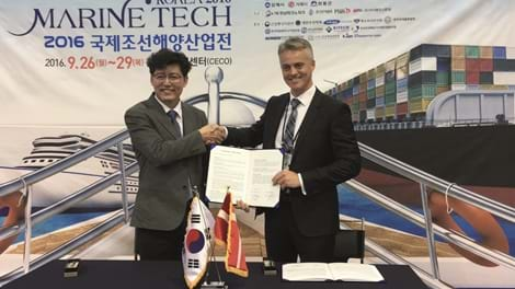 KC and Korea LNG Solution sign agreement
